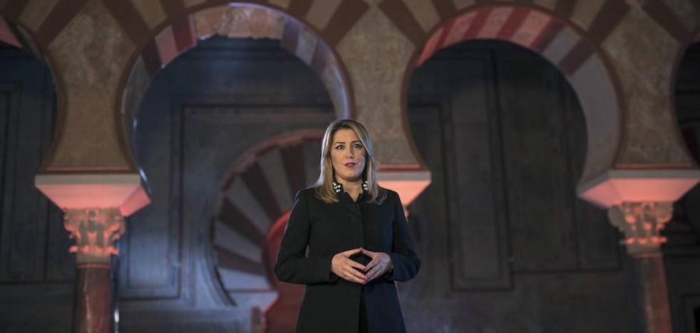 Discurso de Navidad de Susana Díaz en Medina Azahara