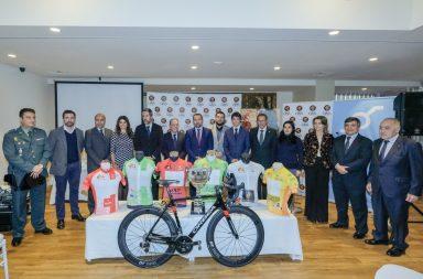Presentación de la 64 Vuelta Ciclista a Andalucía- Ruta del Sol