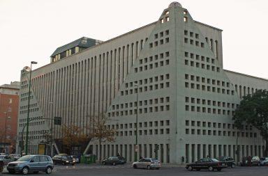 Edificio Abengoa de la avenida de la Buhaira