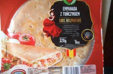 Envoltorio de la empanada de atún de Casa Tarradella