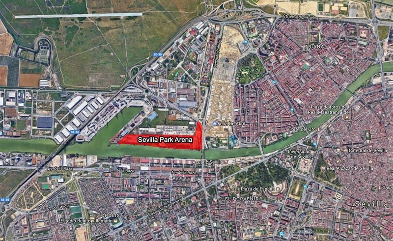 Terrenos donde irá ubicado Sevilla Park