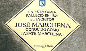 José Marchena murió en Madrid donde posee una calle