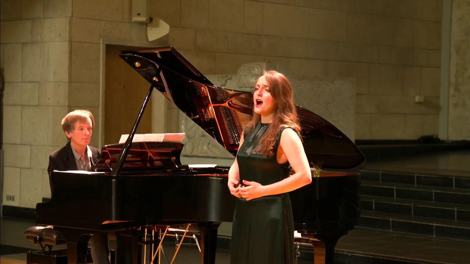 La soprano María Díaz Coca