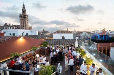 Terraza La Giralda del Eurostars Sevilla Boutique