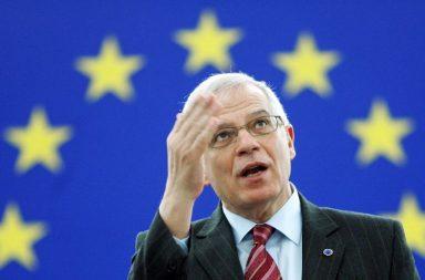Imagen del ministro de Exteriores Josep Borrell