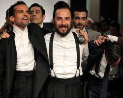 Los trajes de Oteyza se bailan en la MBFW Madrid