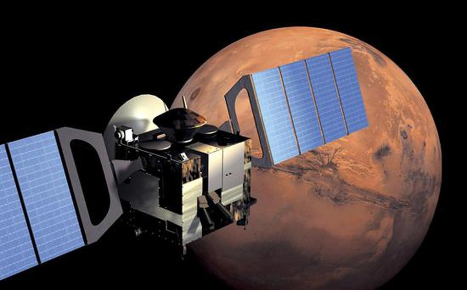 La sonda Mars Express lleva más de quince años explorando Marte