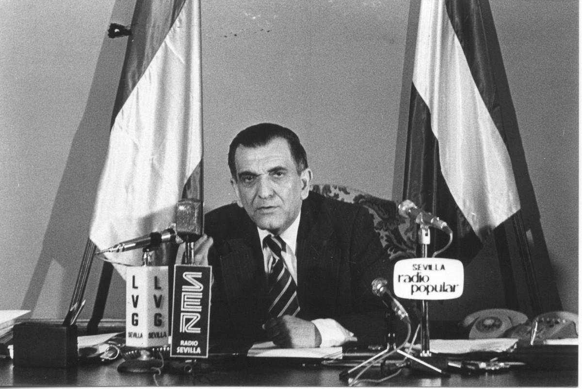 Plácido Fernández-Viagas, primer presidente preautonómico de Andalucía