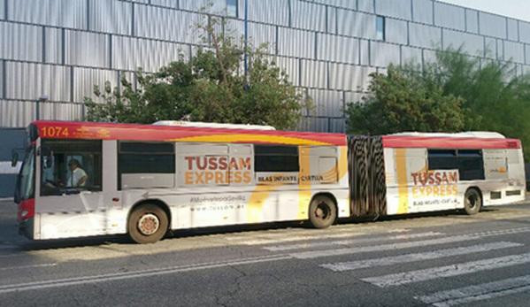Lanzadera express de Tussam