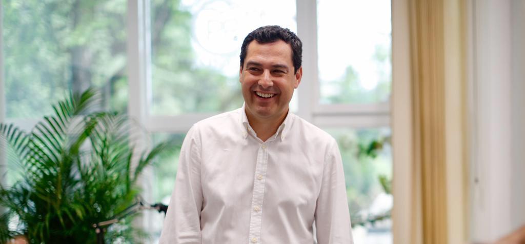 Moreno goza de la confianza del nuevo presidente del PP, Pablo Casado, como candidato a la presidencia de la Junta.