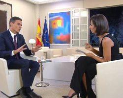 Sánchez no descarta un adelanto electoral si el Gobierno deja de tener apoyos en el Parlamento