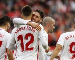 El Sevilla FC derrota al Valladolid y es el nuevo líder de Primera división