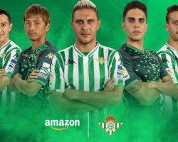 El Betis, segundo club del mundo en vender sus productos en las tiendas online de Amazon