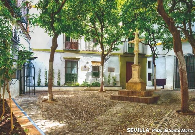 La Plaza de Santa Marta de Sevilla