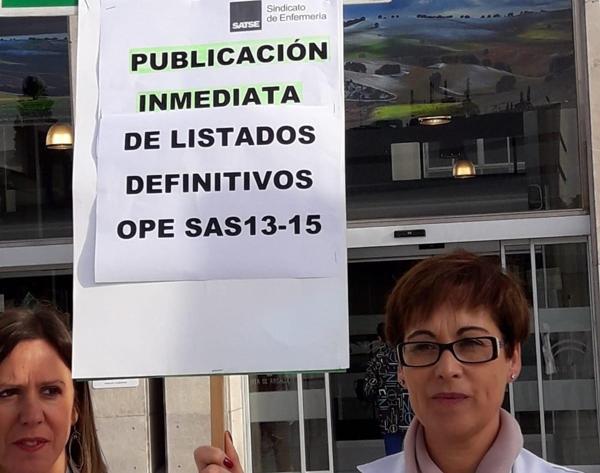 Protestas del Satse