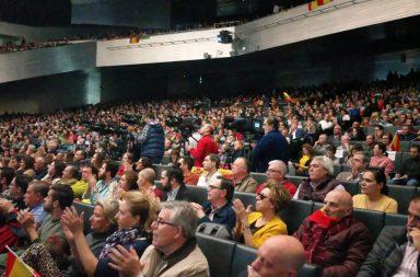 Acto de Vox en el Palacio de Congresos de Sevilla