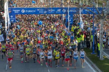 La Zurich maratón de Sevilla