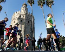 El Maratón de Sevilla cierra su edición con récords masculino y femenino