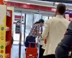 El vídeo viral de Pablo Iglesias en el supermercado sin mascarilla