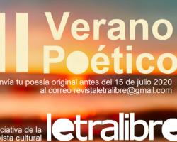 II Verano Poético Letra Libre: Selección