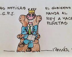 El Gobierno manda al Rey a hacer puñetas