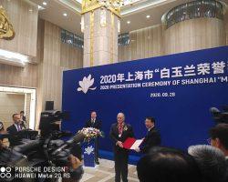 Dos españoles que trabajan para entidades francesas reciben el Magnolia Gold Award de Shanghai