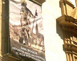 San Roque, la mascarilla del santo protector contra las epidemias