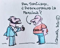 Don Santiago, ¿desokupamos la Moncloa?