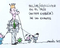 Felipe en el país de los enanos