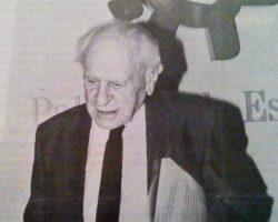 Karl Popper certificó la defunción del marxismo mundial en Sevilla