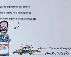 El traductor de Pablo Casado
