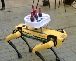El perro-robot de Boston Dynamics ya trabaja en la Cuesta del Rosario