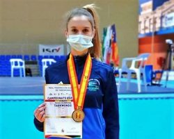 La sevillana Ana Jiménez Campeona de España de Taekwondo