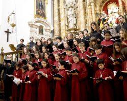 La Escolanía Salesiana María Auxiliadora abre las puertas a la Navidad de siempreLa Basílica de María Auxiliadora acogerá hoy miércoles 23 de diciembre a las 20.45 horas el Concierto de Navidad
