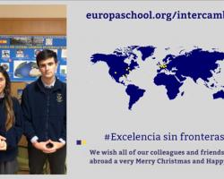 Felicitación navideña de alumnos del Colegio Internacional Europa (Vídeo)