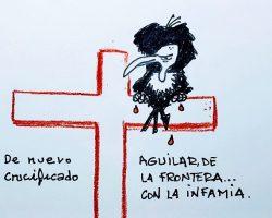 Volverá a ser crucificadoLa viñeta de Ramón