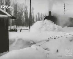 Picos de nieve en España. El temporal histórico de enero de 1957