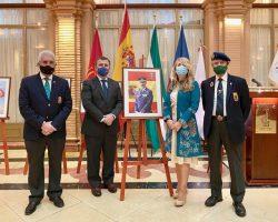 Solemne inauguración de la Exposición de Felipe VIen el Real Círculo de Labradores de Sevilla