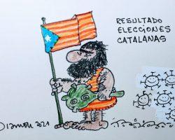 Resultado Elecciones CataluñaLa viñeta de Ramón