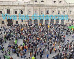 El populismo inunda las calles de Sevilla