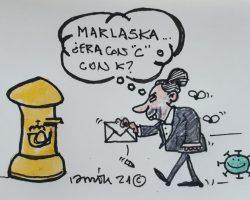 "Marlaska… ¿era con ""C"" o con ""K""?La Viñeta de Ramón"