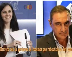 """""""Uve y palito"""", la explicación de Carlos Herrera a la ministrilla Belarra (Vídeo)"""