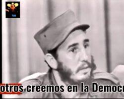El día que Fidel Castro le copió a Pedro Sánchez su manera de mentir (VIDEO)
