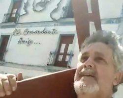 """El penitente cubano que no """"resucita"""" desde el pasado Viernes SantoLa dictadura castrista le detuvo con una cruz a cuestas por las calles de Camagüey"""