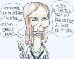 Mónica García y su doctorado