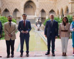 La Eurocopa 2020 en el Estadio de La Cartuja de SevillaSe disputará entre el 11 de junio y 11 de julio, después de aplazarse un año a causa de la pandemia