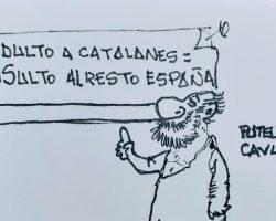 Insulto a EspañaLa Viñeta de Ramón