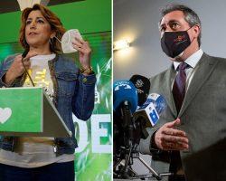 Todos los partidos inician movimientos para la batalla electoral en AndalucíaGuerras internas sin quitarle el ojo al rival por si hubiera elecciones anticipadas. Susana Díaz a cara de perro con Juan Espadas