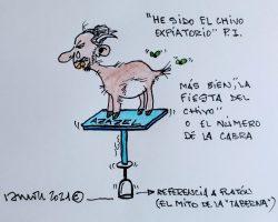 ¿El chivo expiatorio o la cabra?La Viñeta de Ramón