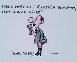 """""""Justicia feminista para Juana Rivas""""La Viñeta de Ramón"""